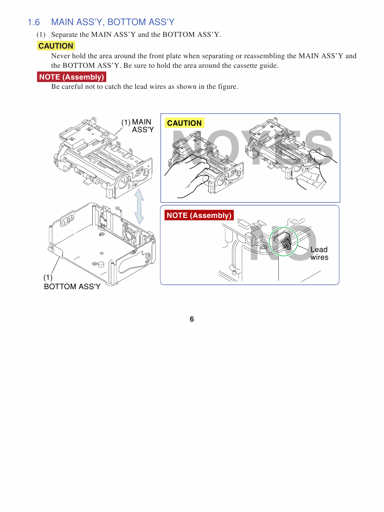 Canon SELPHY CP730 CP720 Service Manual